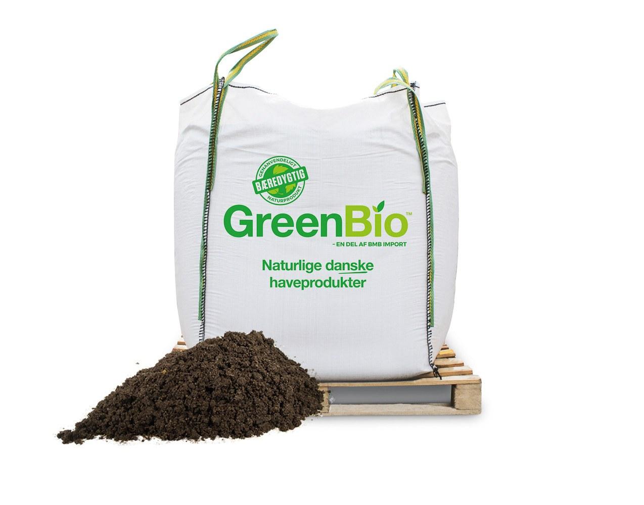 GreenBio Plantemuld - bigbag