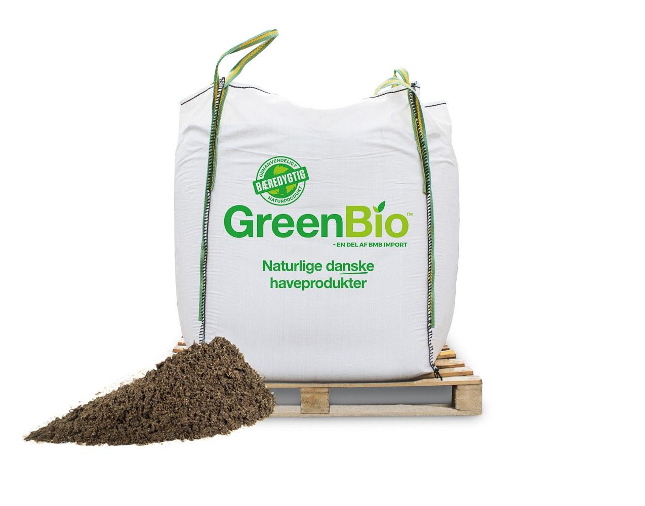 GreenBio Jordforbedring til leret jord
