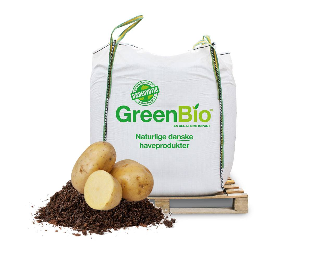 GreenBio kartoffelmuld