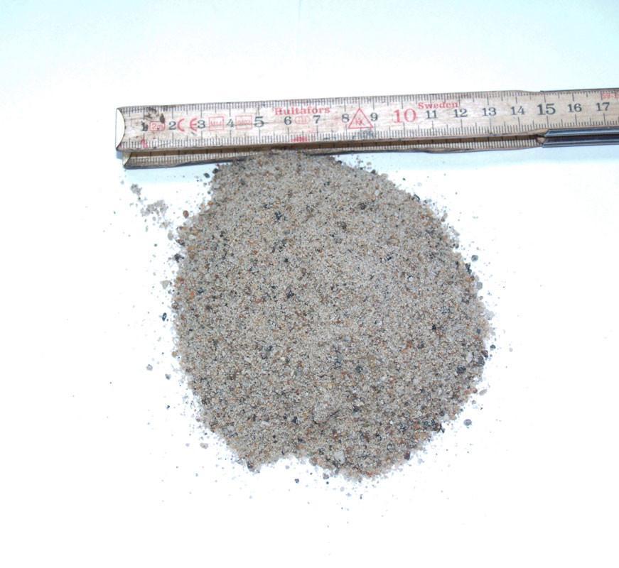 Vasket sand / Sandkassesand, 0-4 mm
