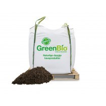 GreenBio Drivhusmuld bigbag á 1000 liter