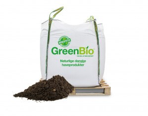 GreenBio Hækjord - Bigbag á 1000 liter.